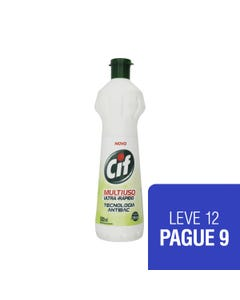 CIF Multiuso Antibac 500ml LEVE 12 PAGUE 9