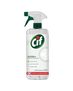 Borrifador CIF Higienizador + Álcool de 500 ml