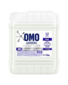Detergente Líquido OMO Perfect White 7L