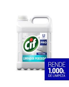 Bombona branca de CIF Limpador de Peróxido de 5 litros