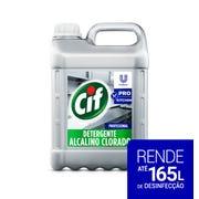 CIF Detergente Alcalino Clorado 5L