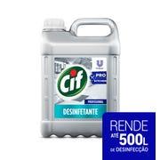 CIF Desinfetante Sem Fragrância 5L