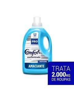 Garrafa azul de Comfort Amaciante Concentrado de 5 litros