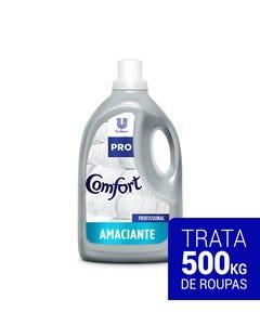 Garrafa branca de Comfort Amaciante Puro Cuidado de 5 litros