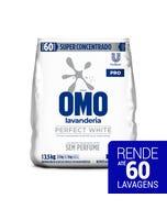 omo perfect white 3,5kg para tecidos brancas